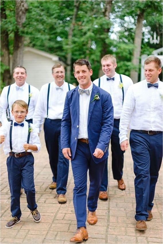 terno para padrinhos de casamento e noivo