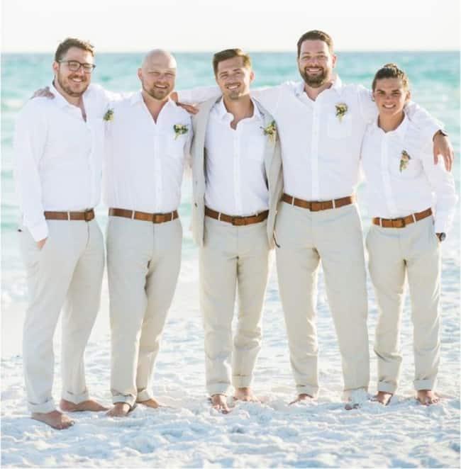traje para casamento na praia
