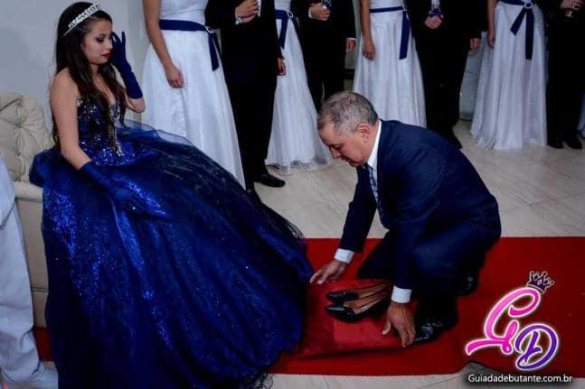 troca de sapatos para festa de 15 anos evangélica
