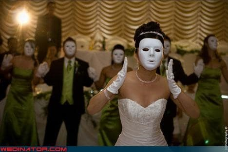 valsa maluca com máscaras