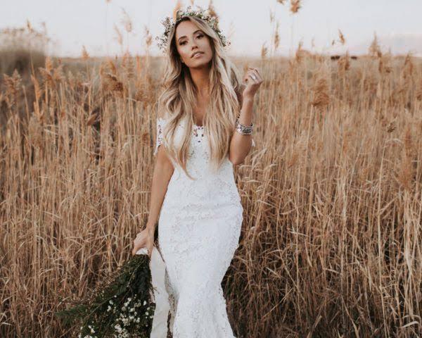 vestido de noiva para noiva para casamento ao ar livre