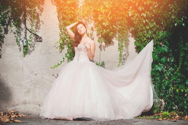vestido longo de debutante