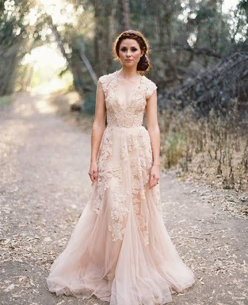 vestido para noiva para casamento ao ar livre