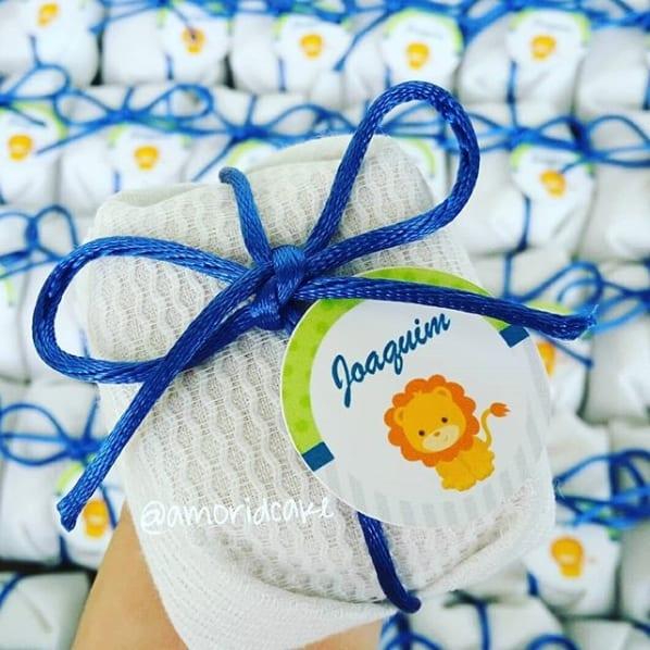 embalagem de tecido para bem nascido