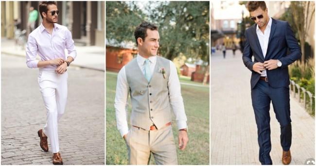 looks masculinos para casamento civil