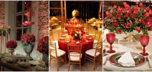 como usar vermelho no casamento