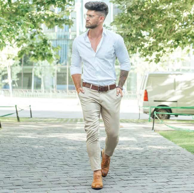 look masculino para convidado de casamento no cartório