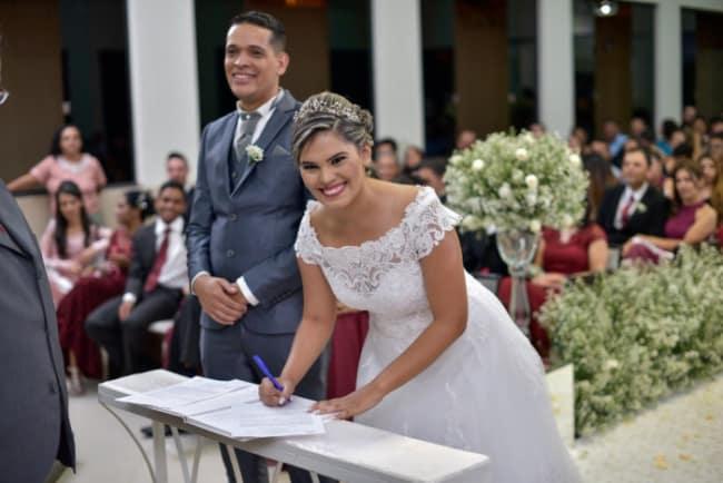 casamento civil com efeito religioso