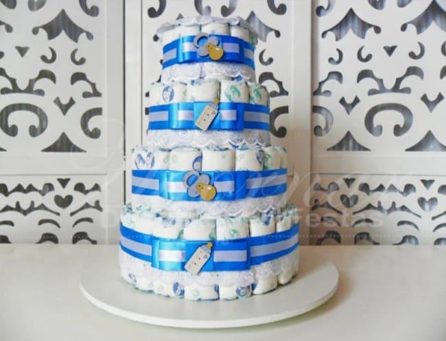 bolo de 4 andares simples