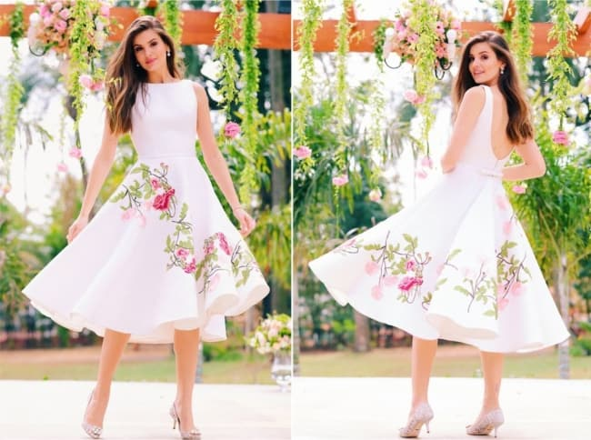 vestido de noiva para casamento no civil