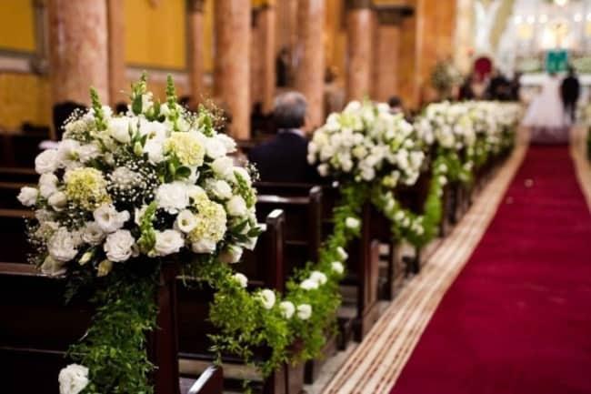 Casamento com tapete vermelho