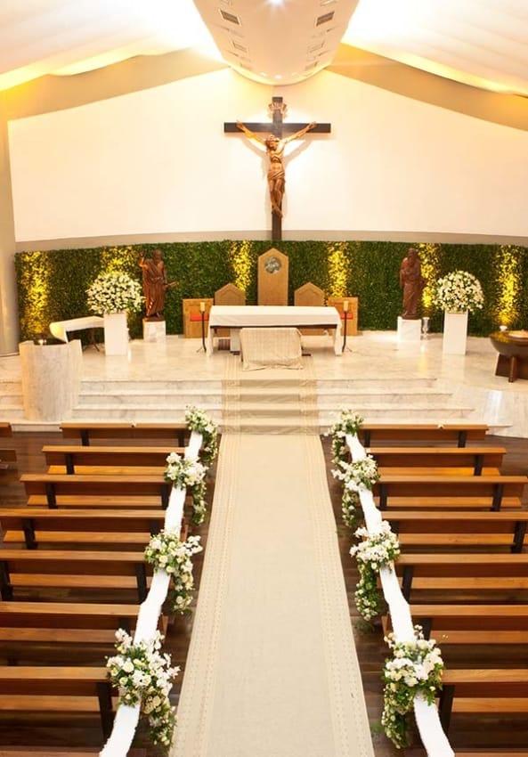 Casamento na igreja simples