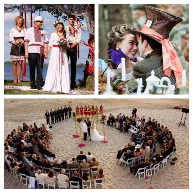 Casamentos Diferentes e criativos