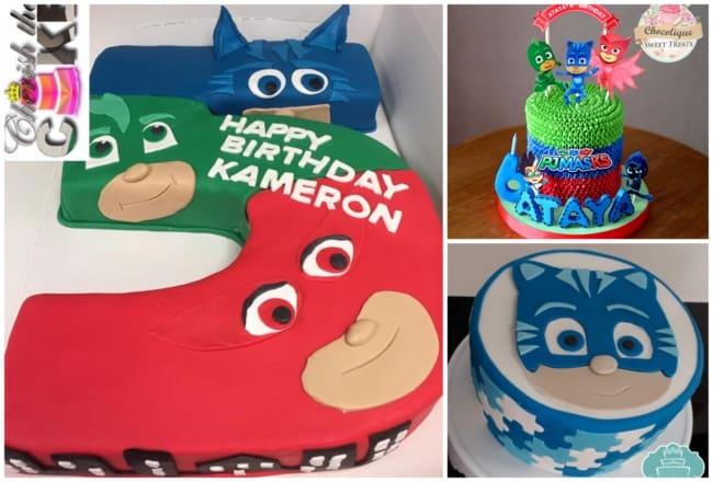 Ideias de bolo dos PJ Masks 1