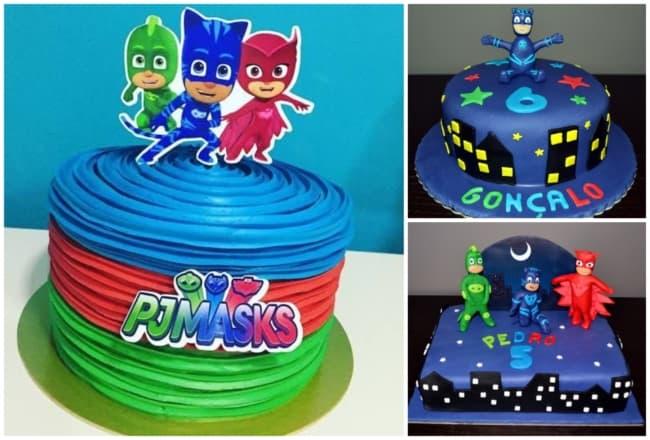 Ideias de bolo dos PJ Masks 2