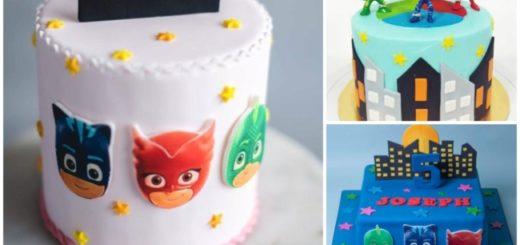 Ideias de bolo dos PJ Masks