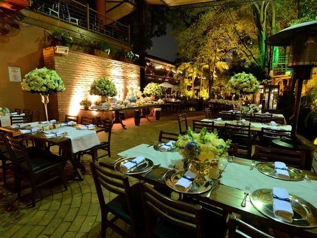 Noivado em restaurante