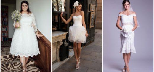 Vestidos de noiva curtos 1