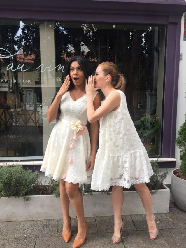 Vestidos delicados para casamento civil