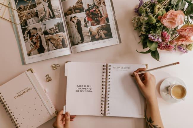 anotações de casamento