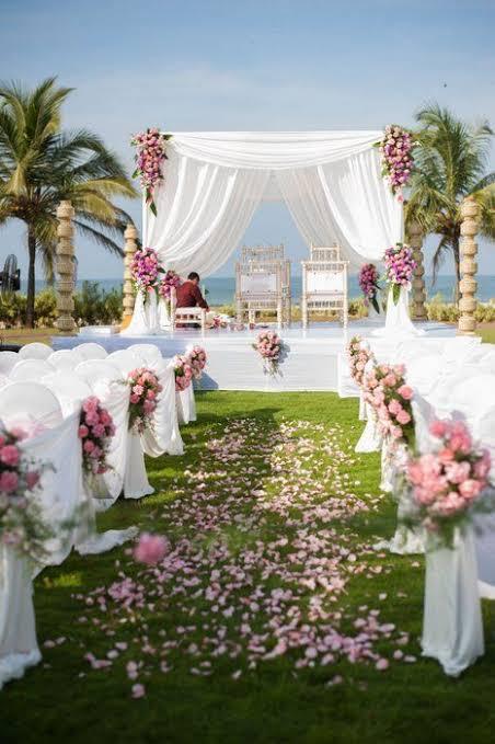 casamento perfeito em sitio ao ar livre