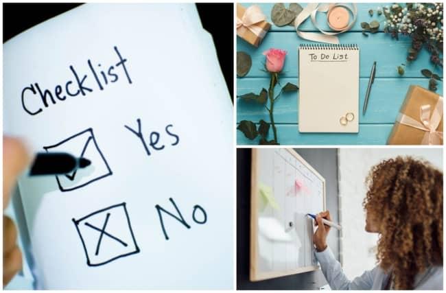 checklist de casamento 1