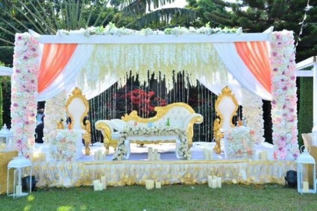 decor de casamento ao ar livre