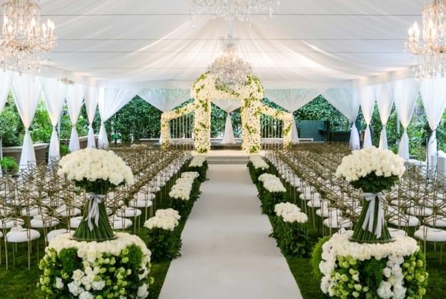 decoração de casamento perfeito
