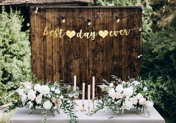 decoração para festa de casamento