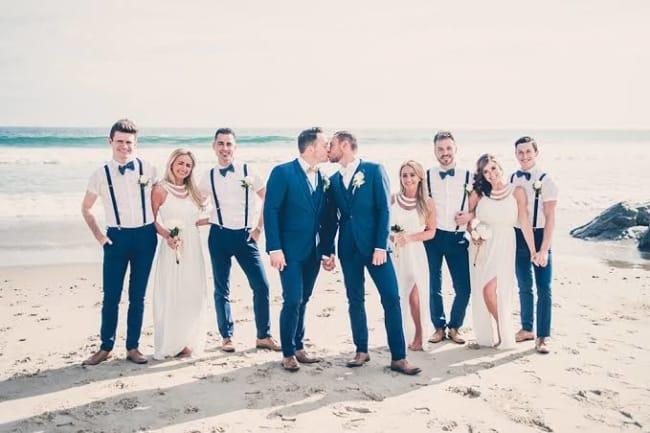 dicas de fotos de casamento na praia