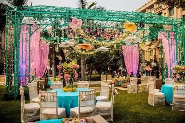 festa de casamento decoração