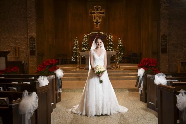 foto de casamento na igreja