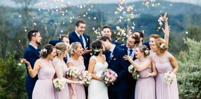 foto de casamento no campo