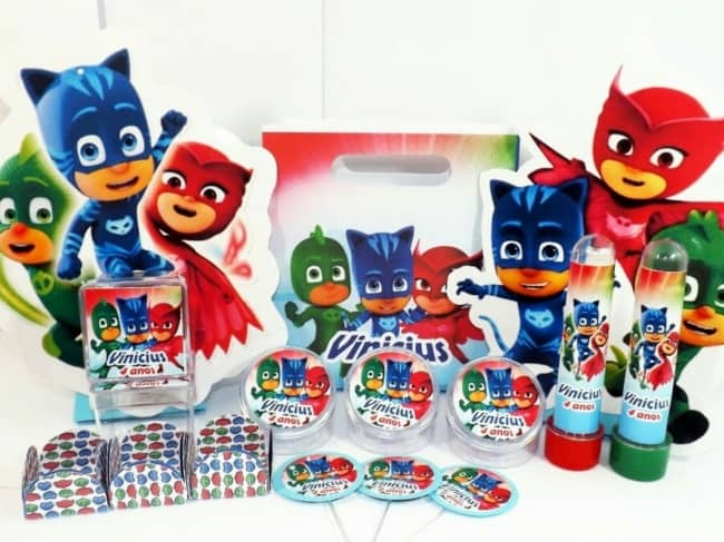 fotos de Kit festa PJ Masks