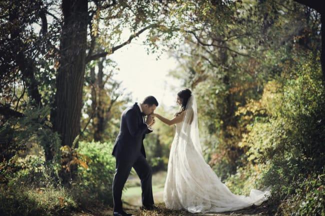 fotos de casamento ar livre