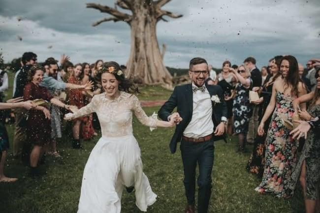 fotos de casamento no campo
