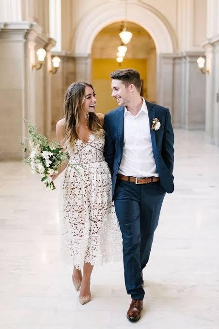 lindas fotos de casamento civil