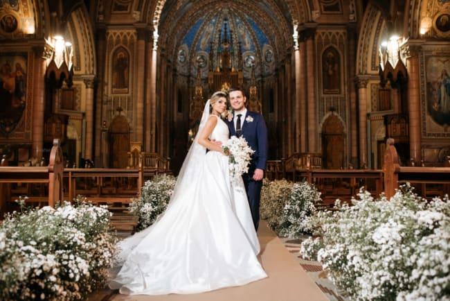 lindas fotos de casamento na igreja