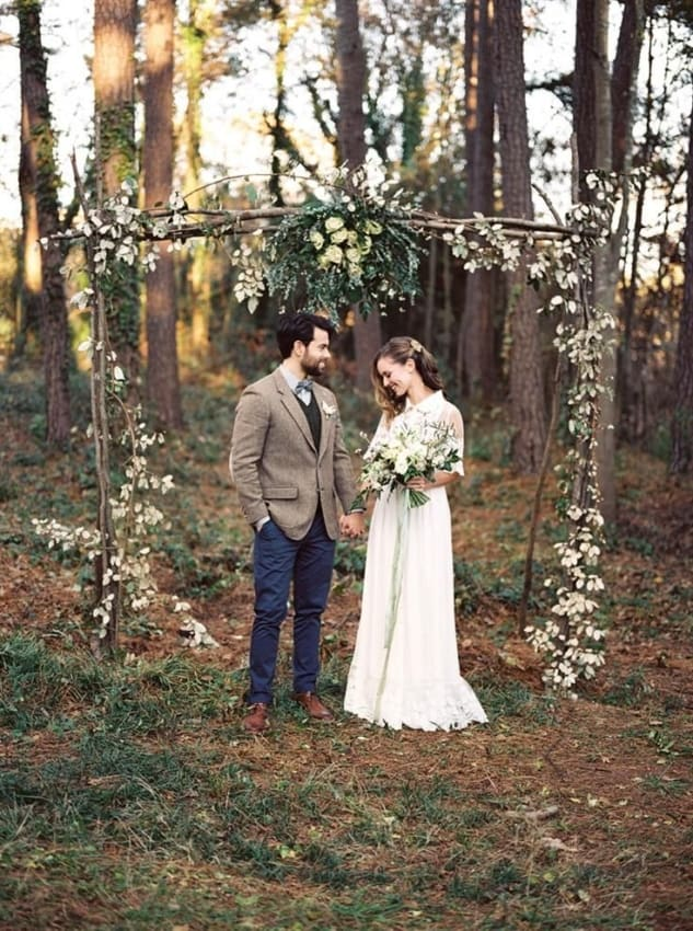 lindas fotos de casamento simples