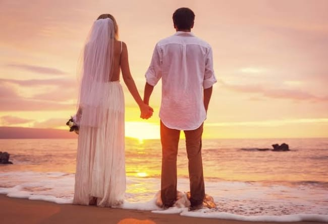 melhores casamento na praia