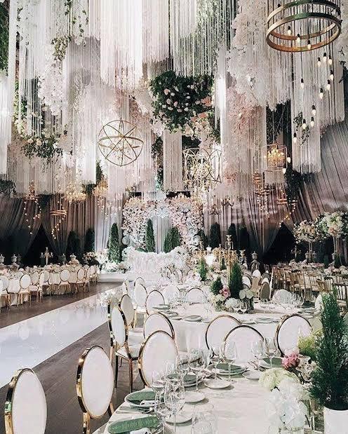 salão de festa de casamento perfeito