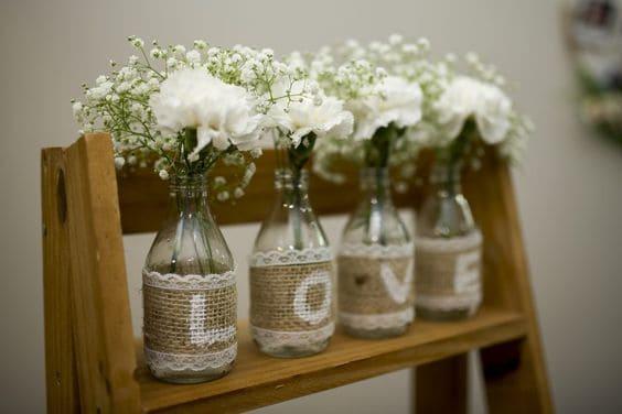 decoração simples e barata para casamento