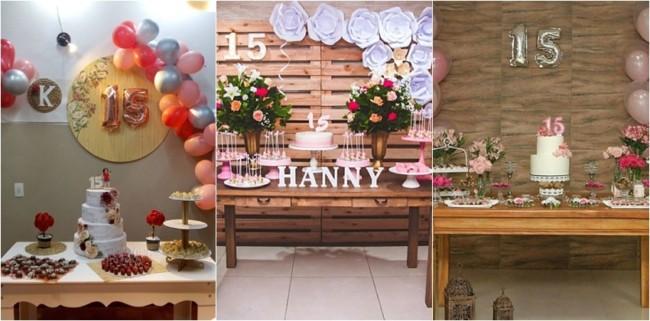 decoração simples para festa em casa