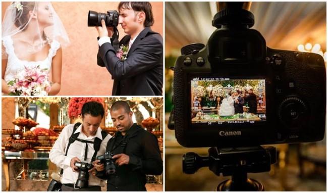 como contratar serviço de fotografia para casamento