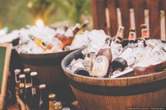 fornecedor de bebidas para casamento