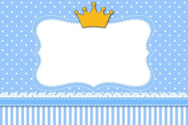 convite azul e branco para imprimir