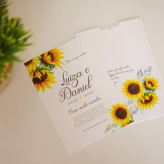 dicas para convite de casamento
