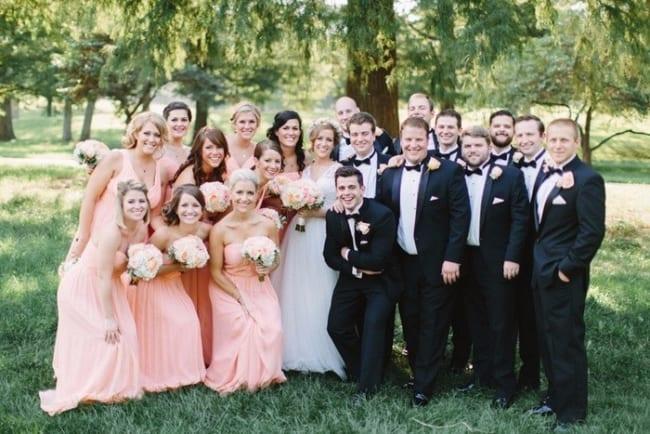como organizar padrinhas e madrinhas de casamento