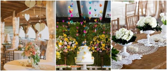 decoração DIY para casamento