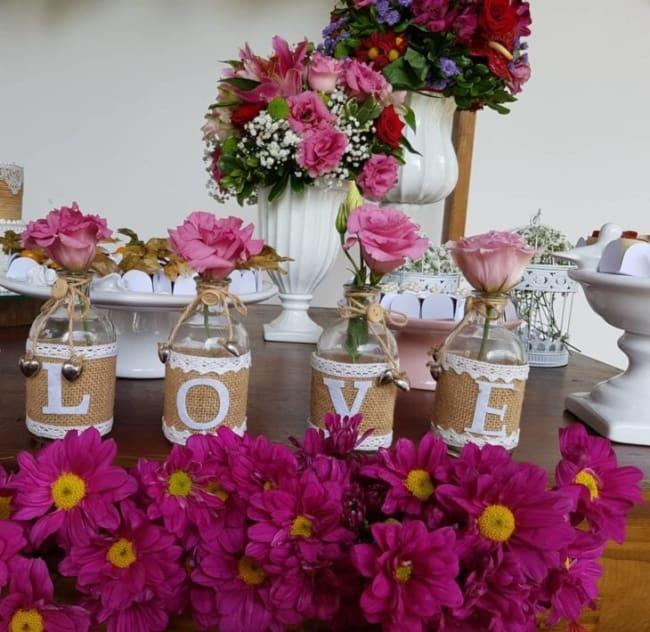 flores para casamento simples e barato